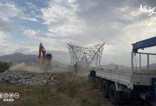 تصویر از مسئولیت انفجار پایه برق کابل را داعش به عهده گرفت